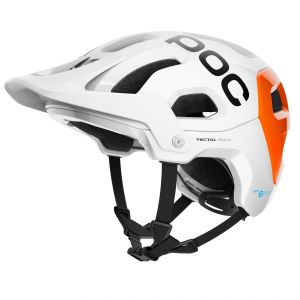 POC Tectal Race Spin NFC White/Orange