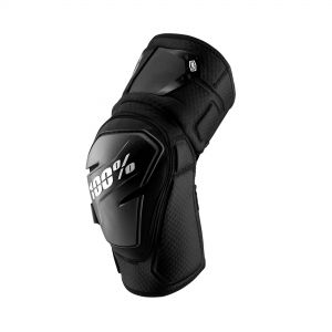100% FORTIS KNEE GUARD BLACK