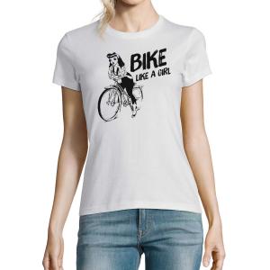 Dámské tričko Bike like a girl