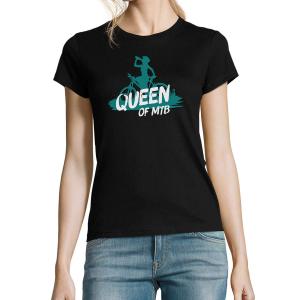Dámské tričko Queen of MTB