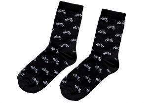 Čierne ponožky - koleso