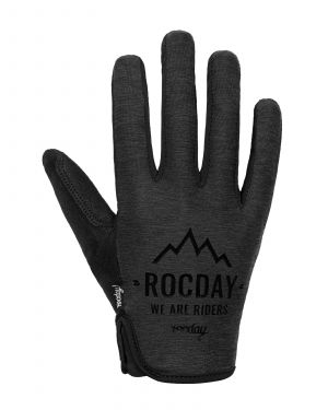 Rukavice na bicykel Rocday FLOW Black