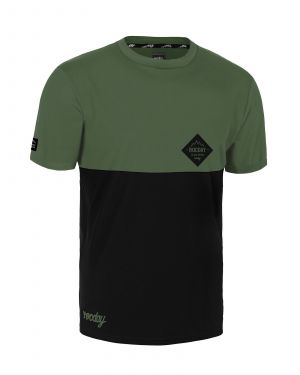 Dres na bicykel Rocday Double Green/Black