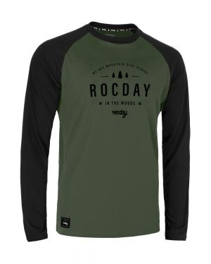 Dres na bicykel Rocday Patrol Black/Green