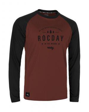 Dres na bicykel Rocday Patrol Black/Red