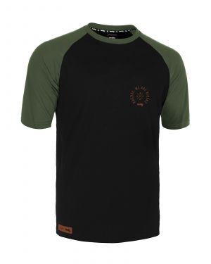 Dres na bicykel Rocday Roost Black/Green