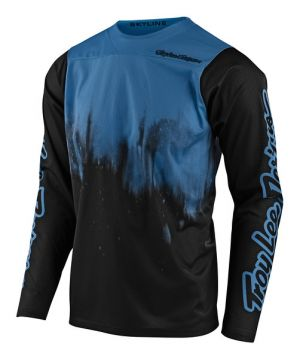 Dres na bicykel TLD Skyline LS Blue/Black