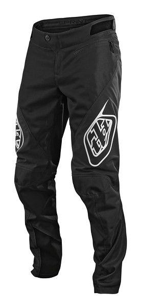 Zjazdové nohavice TLD Sprint Black