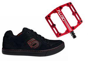 Topánky Freerider + pedále Deity Black Kat