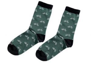 Zelené ponožky -kola