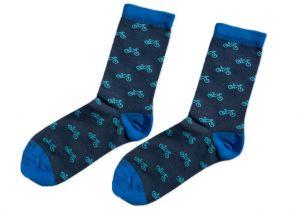 Modré ponožky - Kola