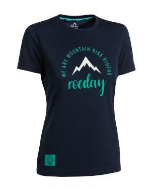 Dámsky dres na bicykel Rocday Monty WMS Dark Blue
