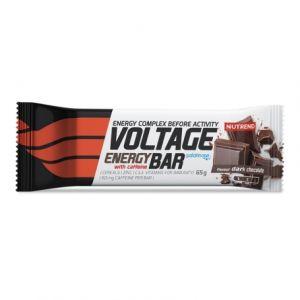 Energetická tyčinka Nutrend Voltage With Caffeine 65g - Horká čokoláda
