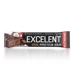 Proteinová tyčinka Nutrend Excellent 85g - Čokoláda s kokosem