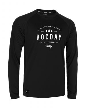 Dres na bicykel Rocday Patrol Black