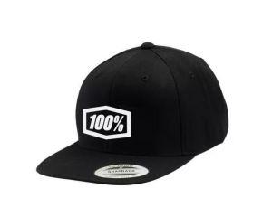 Šiltovka 100% Essential Snapback Black