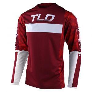 Dres na bicykel TLD Sprint Dyeno - Burgundy