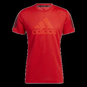 Funkčné tričko Adidas Aeroready Warrior - Vivid Red