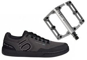 Topánky Freerider Pro + pedále Deity Black Kat