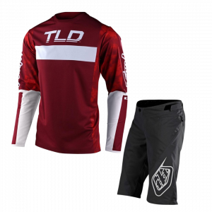 TLD Dres Sprint s dlhým rukávom + Kraťasy